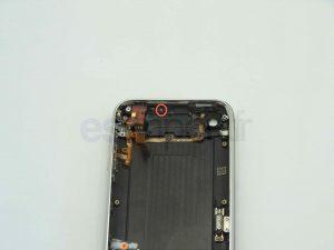 changement de la coque d'un iPhone 3G - AXE EXTRACTEUR TIROIR CARTE SIM