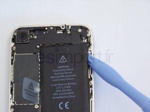 changement de la batterie sur un iPhone 4 - CHANGEMENT BATTERIE IPHONE