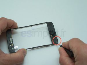DECOLLER COLLE DIGITIZER IPHONE 3G