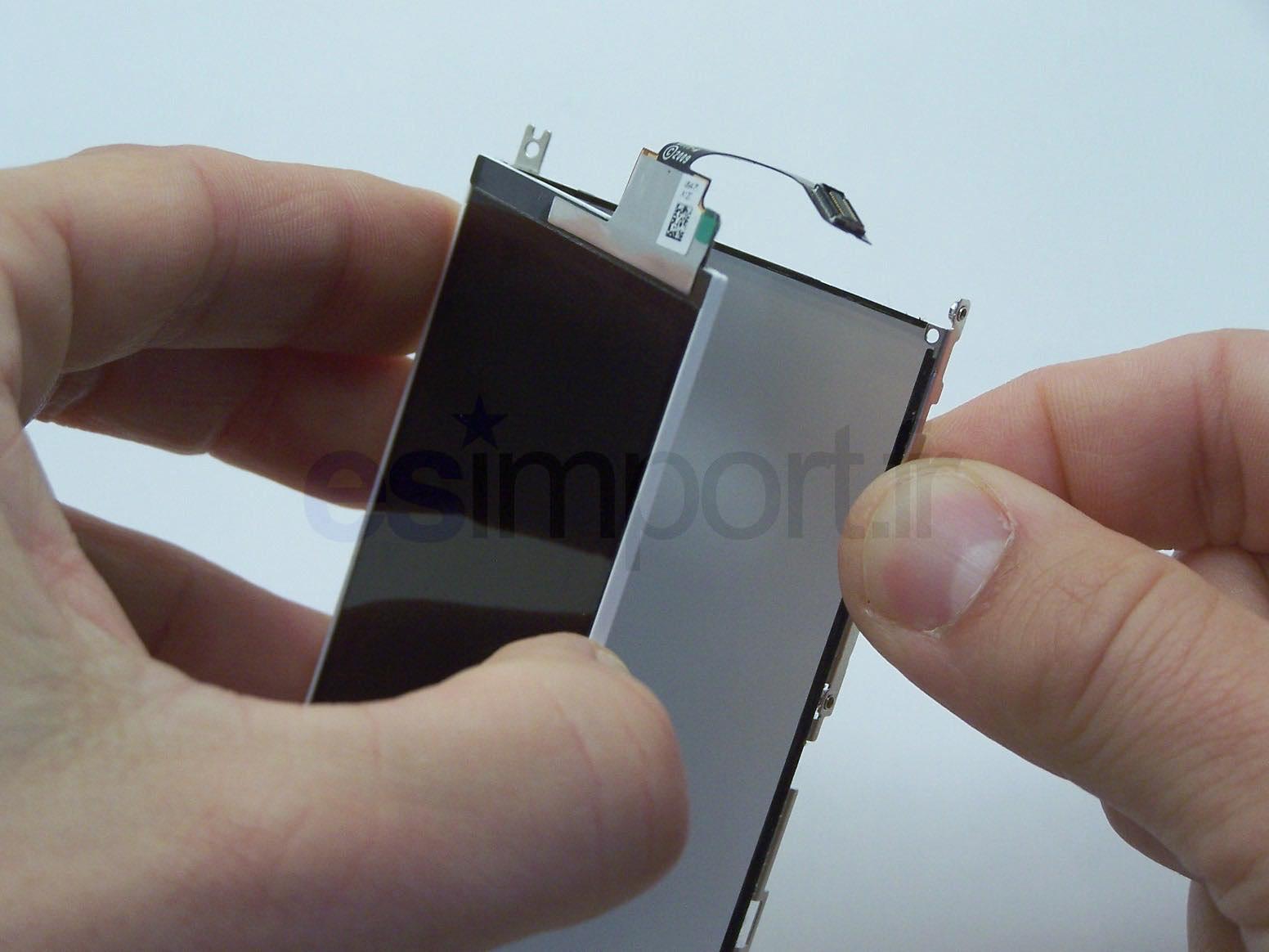 Tutoriel d crivant le changement du lcd sur un iphone 3g for Decoller un miroir