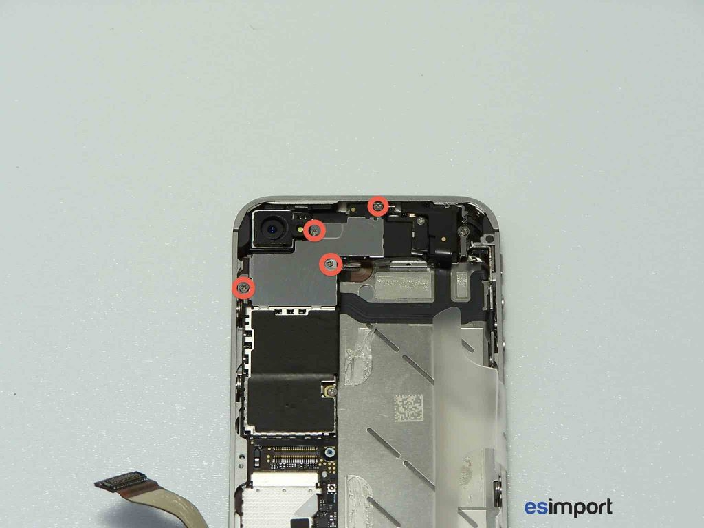 DEMONTER CARTE MERE IPHONE 4S