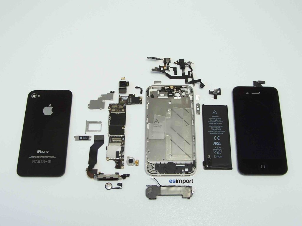 Iphone 4s vue clat e esimport Table vue de haut