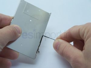 RETIRER ADHESIF IPHONE LCD 3G 3GS