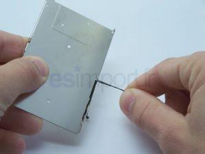 RETIRER ADHESIF IPHONE LCD 3G 3GS