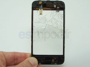 TACTILE VERRE BRISE IPHONE