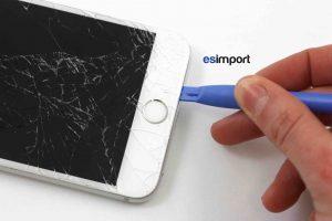 02 GLISSER STYLET PLASTIQUE ENTRE CHASSIS ET ECRAN IPHONE 6 PLUS
