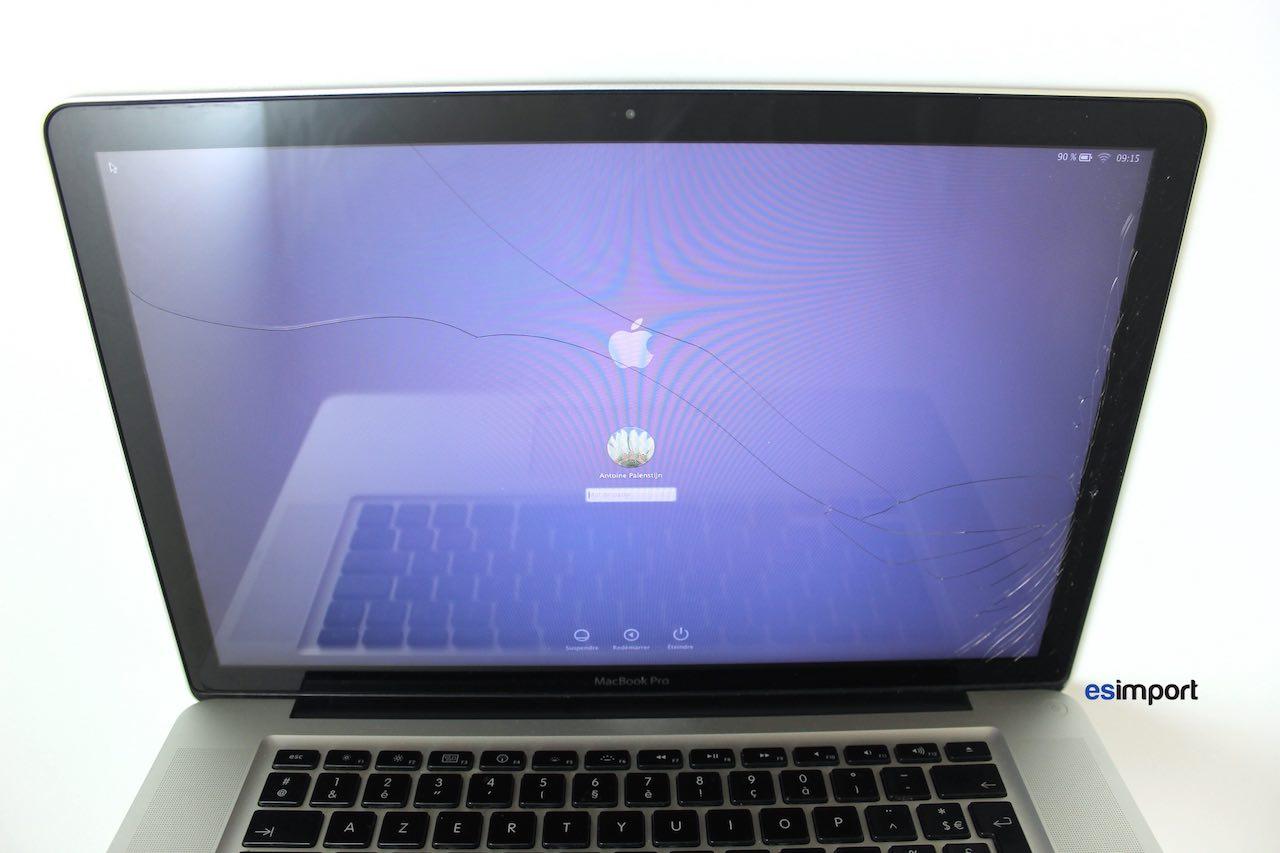 tutoriel d crivant le changement de la vitre sur un macbook a1286 2010. Black Bedroom Furniture Sets. Home Design Ideas