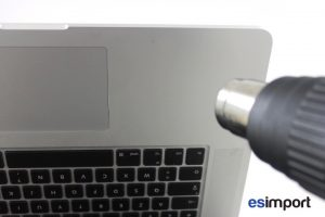 05 CHAUFFER SUR TOPCASE MACBOOK RETINA 15 A1398 MID 2012