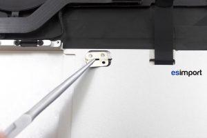 06 RETIRER PLAQUES FIXATION TRACKPAD MACBOOK RETINA A1502 MI 2014