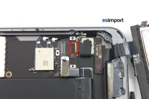 09 DECONNECTER TACTILE BOUTON HOME IPAD MINI 2