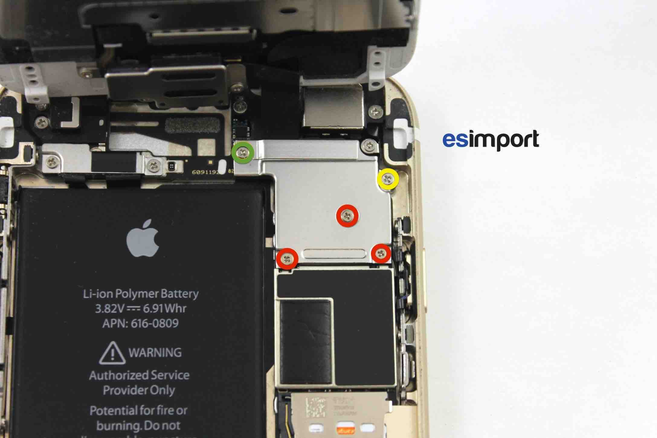 Vis Iphone  Emplacement