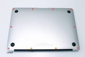 1 DEMONTAGE COUVERCLE DE FOND MACBOOK AIR 13 A1369