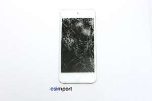 1 IPOD TOUCH 5 ECRAN CASSE