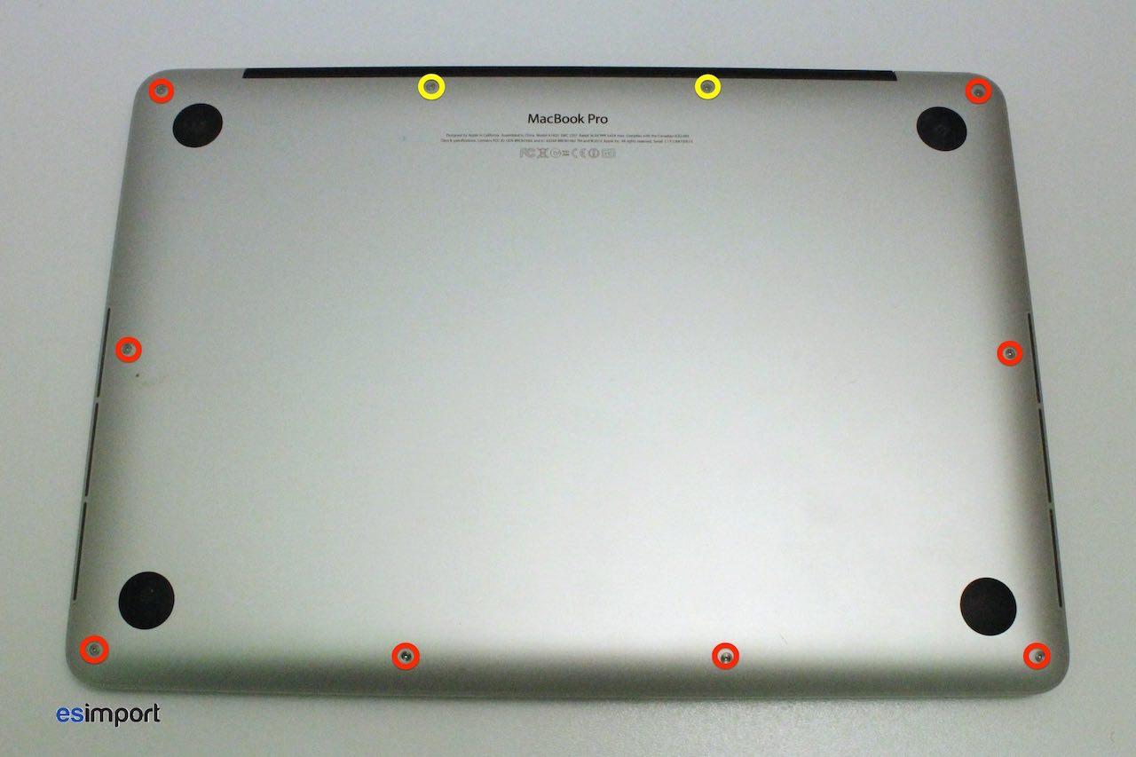 Remplacement de la carte mre du, macBook, pro 13 Unibody