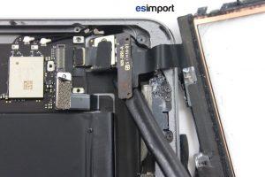 changement de la vitre tactile sur un iPad Mini 2 - 10 DECOLLER CONNECTEUR TACTILE BOUTON HOME IPAD MINI 2