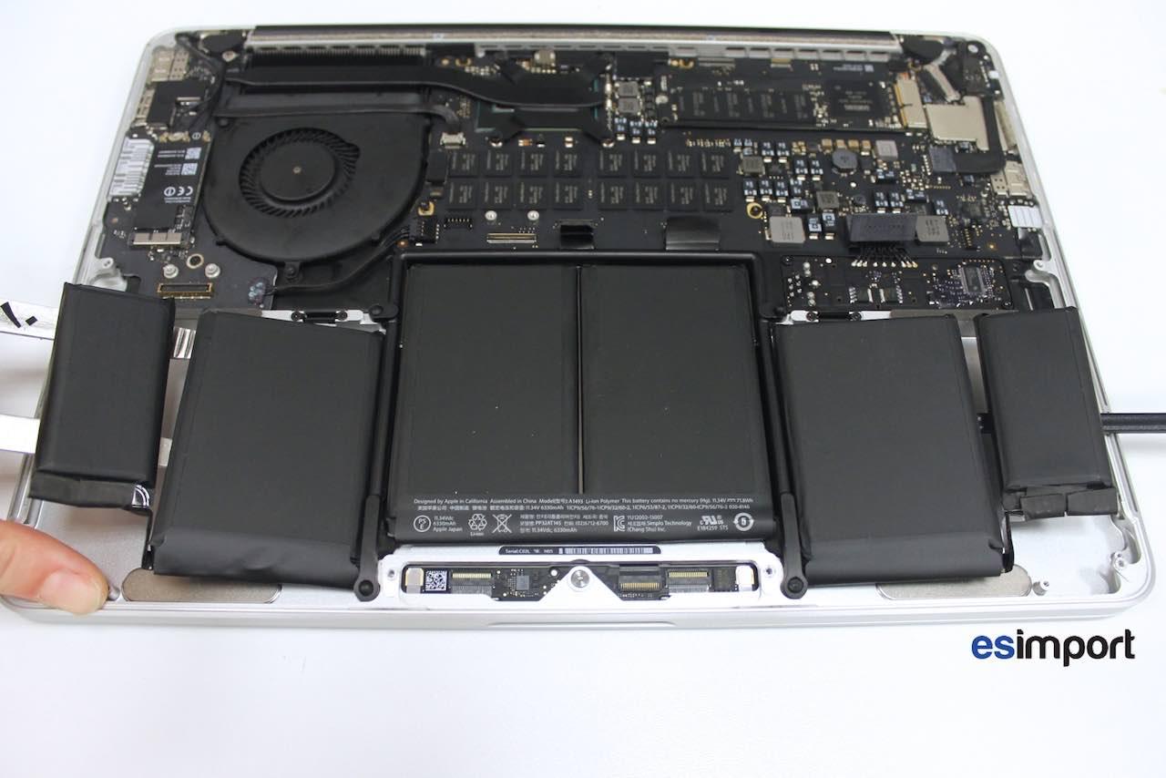 bas prix 221fa 39c7b Tutoriel décrivant le changement de la batterie sur un ...