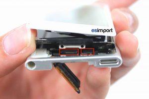 11-DECONNECTER-LCD-ET-TACTILE-IPOD-NANO-7