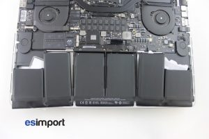14 DEUX COTE BATTERIE DECOLLES MACBOOK RETINA 15 A1398 MID 2012