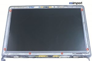changement de la dalle LCD sur un MacBook A1278 2008 - 15-RETIRER-6-VIS-LCD-MACBOOK-PRO-13P-A1278-2008