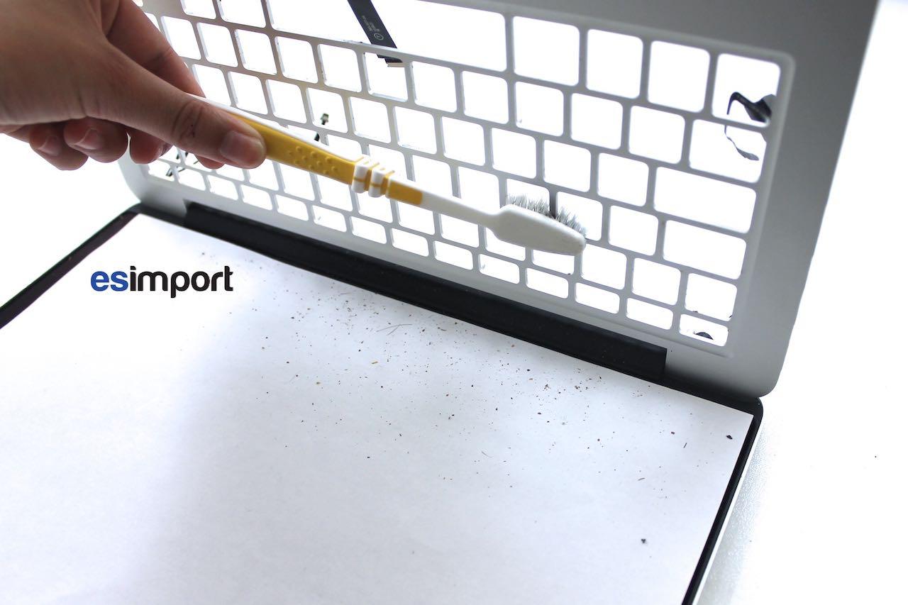 16 nettoyer clavier avant remontage macbook pro retina 13p debut 2013 esimport. Black Bedroom Furniture Sets. Home Design Ideas