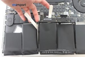 20 DECOLLER BATTERIE MACBOOK RETINA 15 A1398 MID 2012
