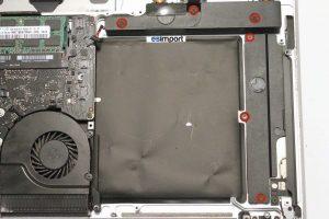 changement du haut-parleur droit sur un MacBook A1286 2010-2011 - 5-retirer-6-vis-haut-parleur
