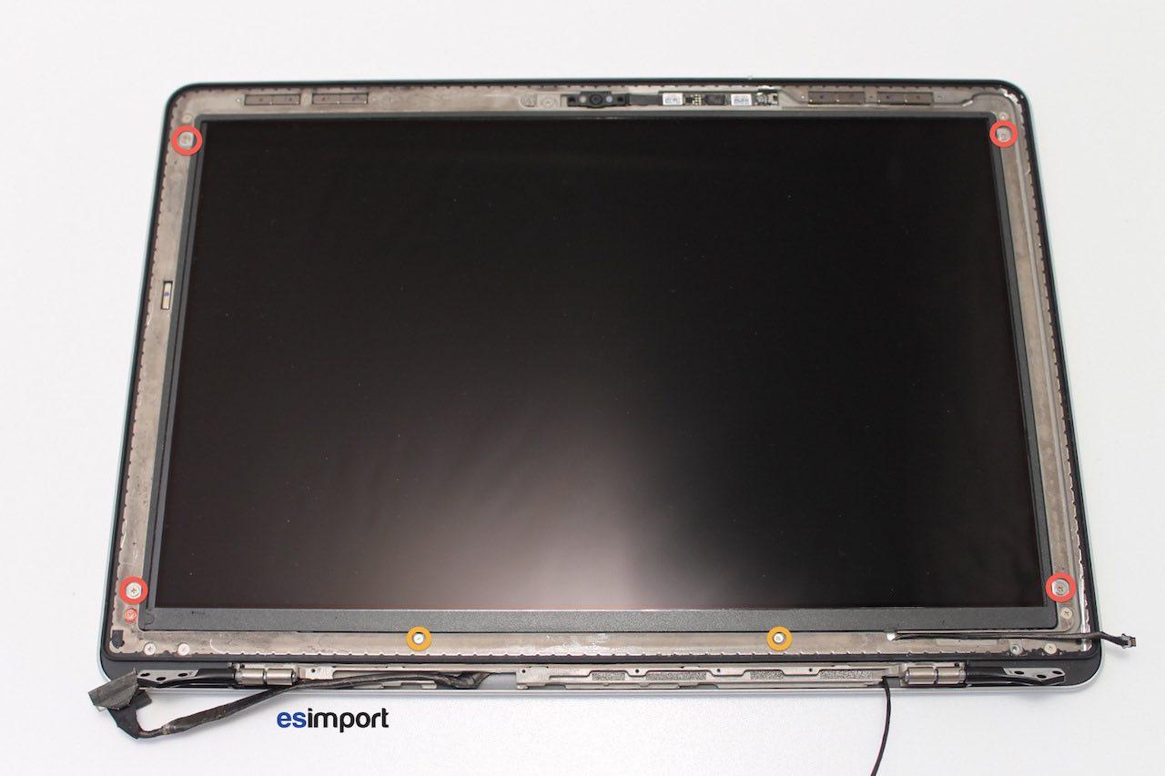 tutoriel d crivant le changement du c ble cam ra sur un macbook a1278 2012. Black Bedroom Furniture Sets. Home Design Ideas