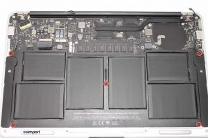 8 DEMONTAGE BATTERIE MACBOOK AIR A1370