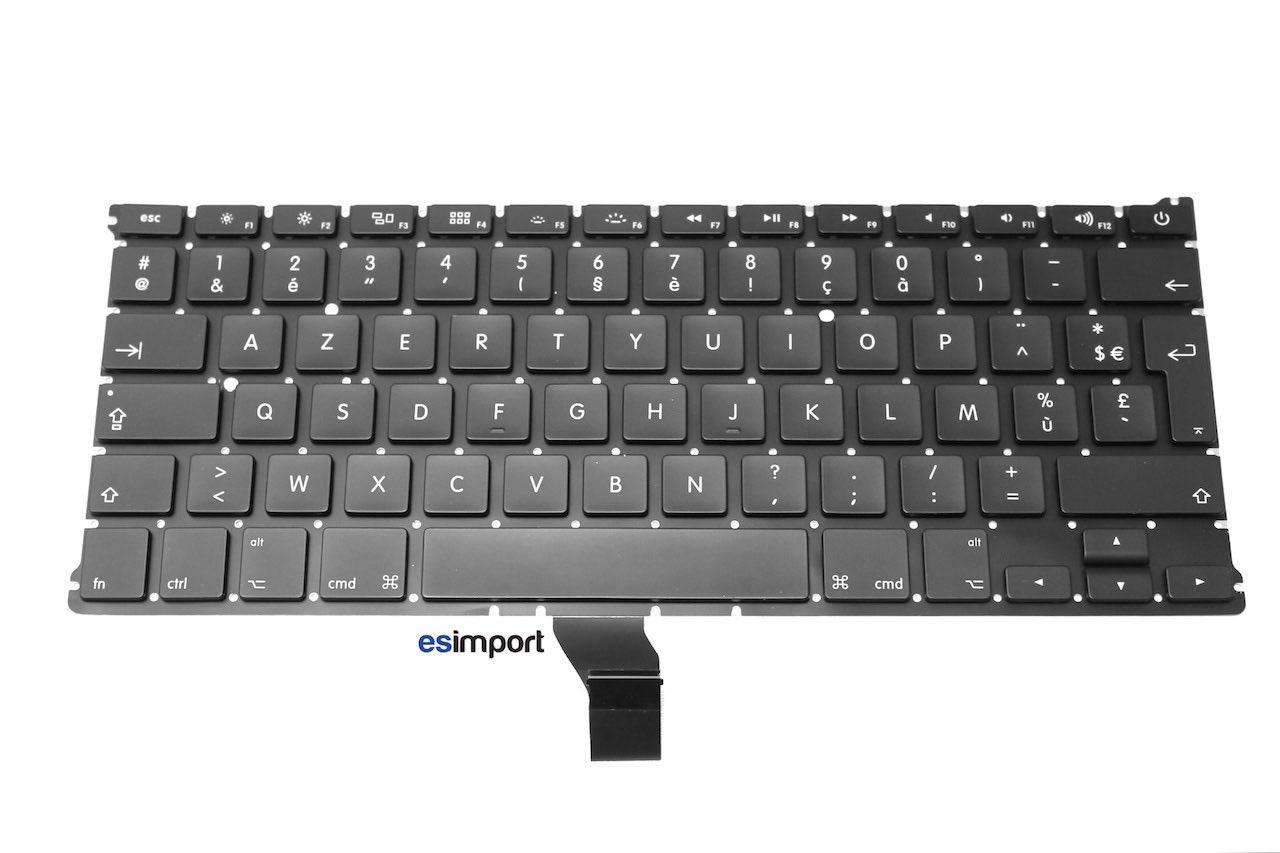 Tutoriel décrivant le changement du clavier sur un MacBook A1369
