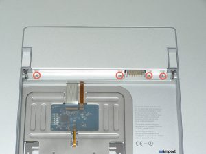 COMPARTIMENT BATTERIE MACBOOK 17