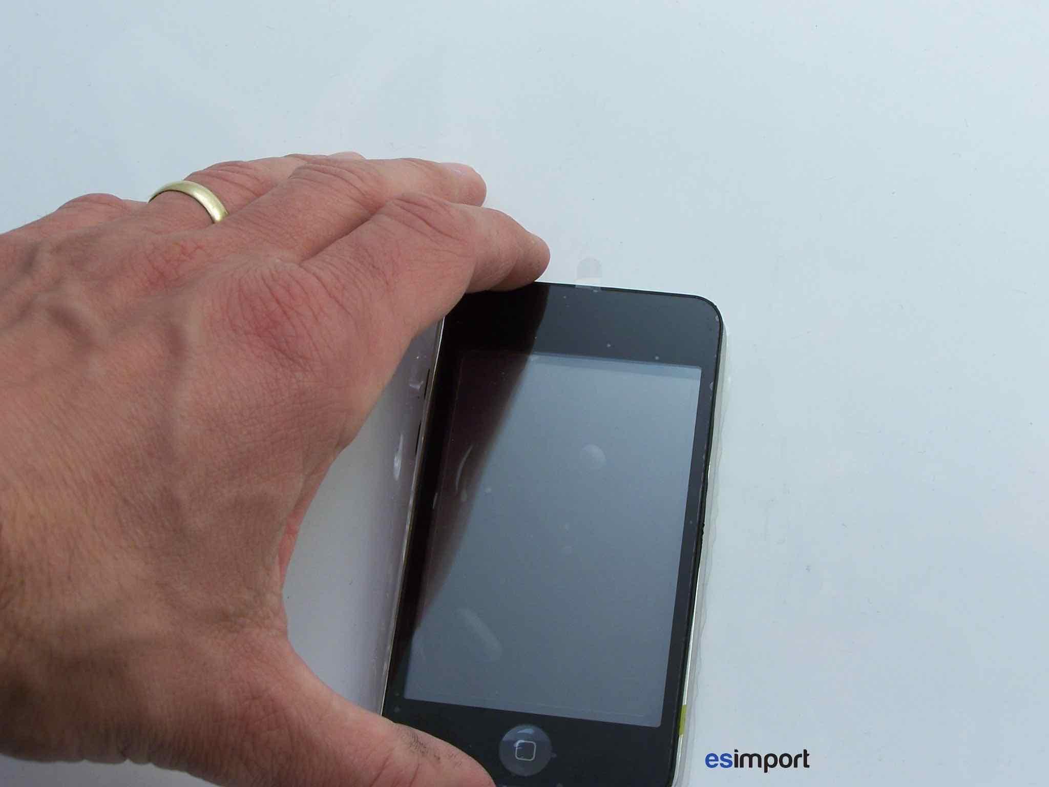 tutoriel d crivant le changement de l 39 cran tactile sur un ipod touch 2. Black Bedroom Furniture Sets. Home Design Ideas
