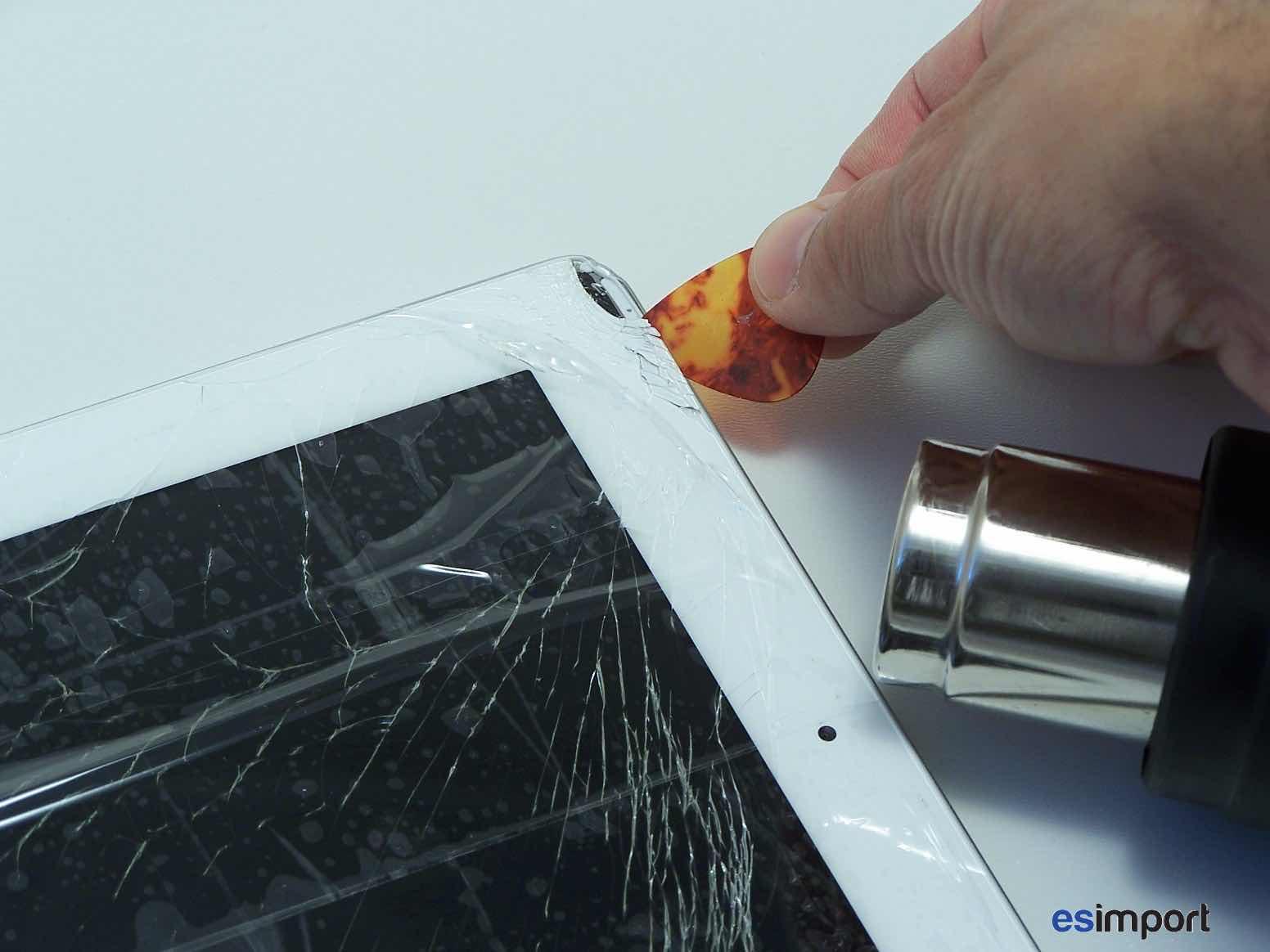 tutoriel d crivant le changement du tactile sur un ipad 2 wifi a1395. Black Bedroom Furniture Sets. Home Design Ideas