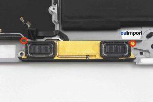 Changement du haut-parleur gauche sur un MacBook A1532 2015 - 01 DEVISSER 2 VIS TORX 4 MACBOOK 12 POUCES A1532