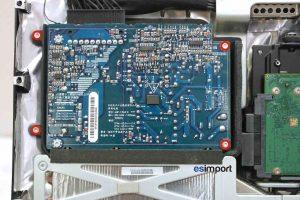 Changement du bloc alimentation sur un iMac A1224 - 01-DEVISSER-4-VIS-TORX-9-BLOC-ALIMENTATION-IMAC-20P-A1224