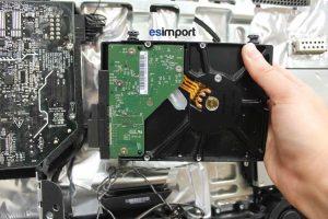 Changement du disque dur sur un iMac A1225 - 04-sortir-disque-dur-imac-24p-a1225