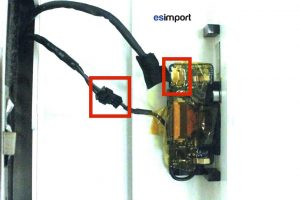 06 DECONNECTER MICROPHONE CAMERA IMAC 20P A1207 FIN 2006