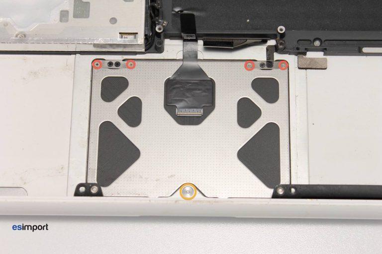 trackpad pour macbook blanc unibody A1342