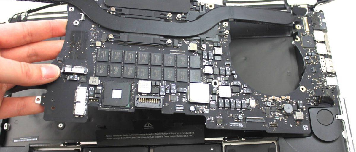 Permalien vers:Réparation de la carte mère d'un Macbook