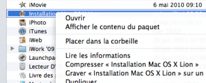 installation de Lion disque dur externe - mac-os-x