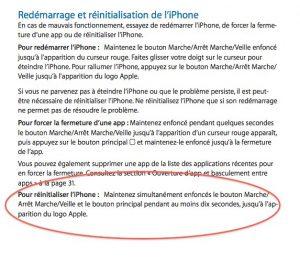 reinitialisation-iphone