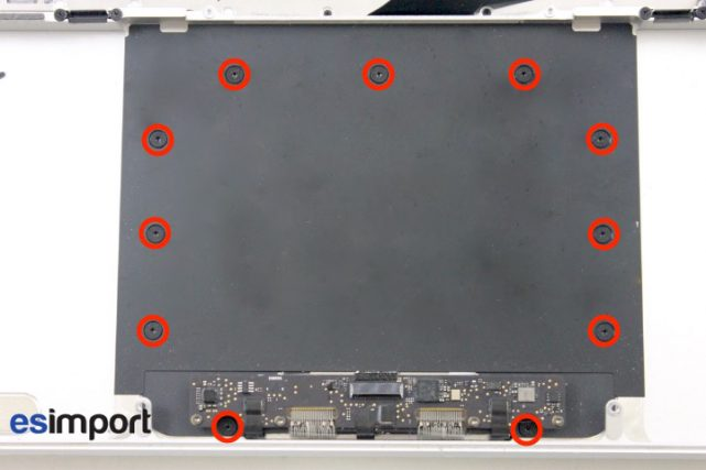 05 DEVISSER VIS TORX 5 PLAQUE TRACKPAD MACBOOK PRO RETINA A1398 MI 2015