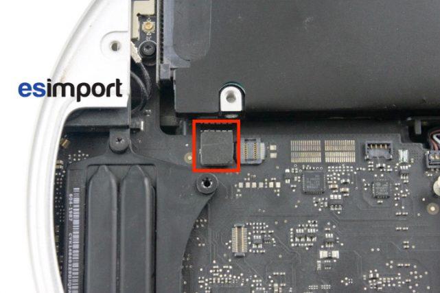 15 DECONNECTER NAPPE DISQUE DUR MAC MINI 2011 (1)